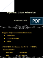 Hipertensi Dalam Kehamilan NEW 04052019