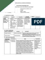 SESION DE APRENDIZAJE n° 3 -3RO - DESARROLLO PERSONAL - IV unidad