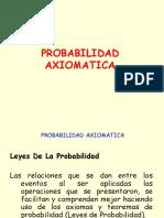 Probabilidad Axiomatica