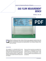 Gas Flow Measurement Bench FM120