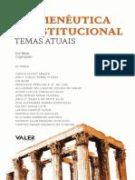 Livro - Hermenêutica Constitucional