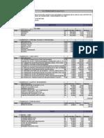 3.4 Presupuesto Analitico