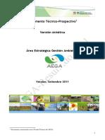 Documento Base del Area Estratégica Gestión Ambiental (síntesis)