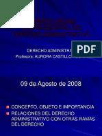 derecho administrativo fundamentos