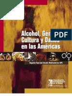 Alcohol, Genero, Cultura y Danos en Las Americas