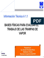 Calculo de Vapor Flash