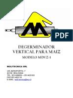 Degerminatrice Manuale in SPA
