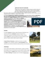 Ciudades Coloniales, Los Capitales Del Reino de Guatemala