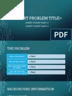 Insert Problem Title