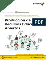 Producción de Recursos Educativos Abiertos