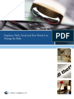 Fraud Theft Security Hospitality