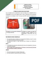 1. Informe Inspeccion de Botiquín Canasta de La Confianza
