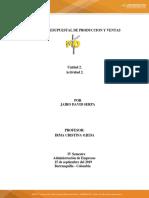 Actividad 2 Analisis Presupuestal Produccion y Venta Docx11111