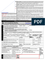Voter Registration Application (English)