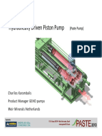 Pulsation free (Piston Pump)