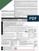 Voter Registration Application (Spanish)