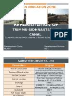 Rehabilation TSL Canal.pptx