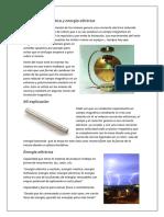 Levitación Magnética y Energía Eléctrica