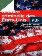 Histoire Criminelle Des Etats-Unis - Histoire Des Etats-Unis