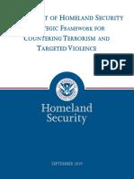 19 0920 Plcy Strategic Framework Countering Terrorism Targeted Violence