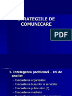 Strategii de comunicare