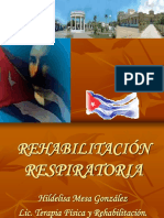 rehabilitacion respiratoria