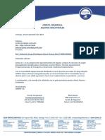 Cot. Generador Pramac P6000 - Patricia Prado