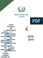 Piscc Sabanalarga 2016-2019