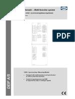 Delomatic 3, SCM-1, Synchronising-measuring Module 4921240056 UK
