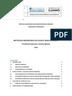 Proyecto Grupal Scheduling e Inventarios Entrega1 2