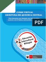 SÍLABO Curso Virtual Escritura Quechua Central (1)