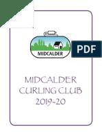 Midcalder Curling Club Syllabus 2019-2020