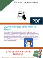 Presentación power point Marx
