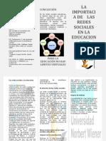 redes social en educacion