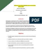 """Evidencia 3 Actividad 12 Definiendo y Desarrollando Habilidades Para Una Comunicación Asertiva y Eficaz"""""""