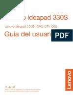 Manual Lenovo Ideapad 330S