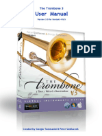 The Trombone 3 User Manual