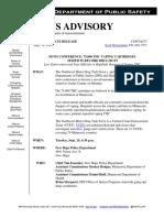 DPS News Advisory - THC Vaping Seizures
