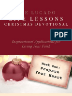 Lucado Life Lessons Christmas Devotional - Week 1
