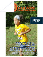 City of Fulton Parks and Recreation Program and Activity Guide - Fall 2019