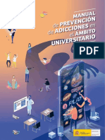 Manual de prevención en adicciones universitario