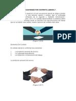 Qué Se Entiende Por Contrato Laboral
