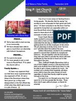 newsletter 2019 09