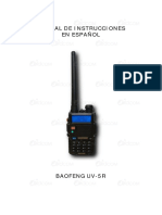 Manual de Instrucciones de Baofeng UV-5R en Español (LU8MRD RICARDO)