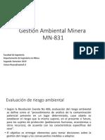 Apuntes Catedra 2 -Gestion Ambiental Mineria 26-9-19