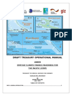 Draft Treasury Operational Manual 2019
