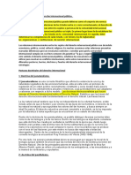 Soluciones del derecho Internacional Publico.