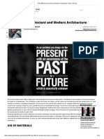 How Different is Ancient and Modern Architecture _ Plan n Design