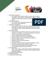 Direcctorio Centro de Desarrollo Agroindustrial