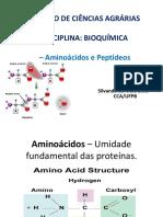 Aminoacidos e peptideos - bioquimica